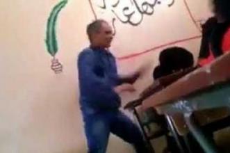 """عاجل… وزارة التربية الوطنية تقرر توقيف الأستاذ الذي عنف تلميذة ووصفها بالعاهرة والأطر التربوية غاضبة من """"التسرع"""" في الحكم -بلاغ-"""
