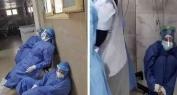 فيديو صادم..وفاة كل المصابين بكورونا داخل العناية المركزة بمستشفى في مصر
