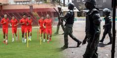 انقلاب عسكري في غينيا وبعثة الأسود تحزم حقائبها استعدادا لمُغادرة البلاد