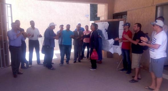 احتجاجات في مديرية خريبكة بسبب التلاعب في مناصب الحركة المحلية ونقابتين تدعوان للاعتصام
