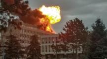 بالفيديو… انفجار هائل يهز جامعة فرنسية
