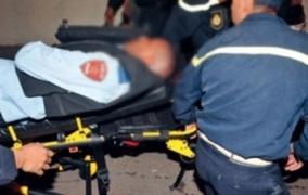 """ثلاثيني من ذوي السوابق يعربد ب""""جنوي"""" بالشارع ويكسر 3 سيارات ويصيب شرطي في ذراعه والأمن يستعمل الرصاص لتوقيفه =بلاغ="""