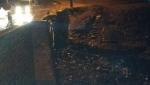 عاجل والشتا حالفة تحرج المسؤولين… انهيار للمرة الثانية لجزء من قنطرة فم الجمعة التي انتهت بها أشغال الترميم الاسبوع الماضي -الصور حصرية-