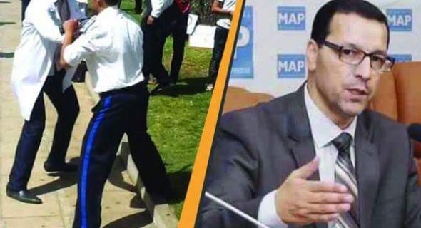 أطر البرنامج الحكومي المضربة عن الطعام تعنف أمام البرلمان وتتهم الصمدي بتمرير مغالطات على قناة ميدي 1