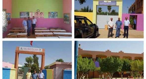 مدير الأكاديمية والمدير الإقليمي للفقيه بن صالح في زيارات ميدانية ل8 جماعات لتتبع عمليات تأهيل المدارس
