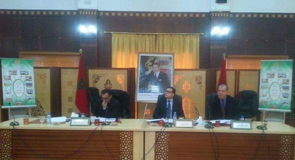 المجلس الإقليمي للفقيه بن صالح يصادق على برنامج طموح للتنمية الشاملة ( 2017/2022) بكلفة إجمالية تناهز 3072 مليون درهم