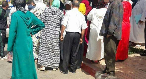 """عروس تتلقى """"سلخة"""" من طرف الزوج وأمه أمام محكمة بني ملال والشرطة تدخل على الخط-الصورة-"""