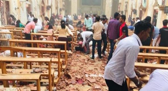 الإرهاب يضرب من جديد وأكثر من 138 قتيلا في تفجيرات استهدفت كنائس وفنادق بسريلانكا