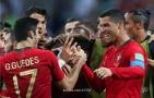 مباراة مشوقة بين اسبانيا والبرتغال والنجم العالمي كريستيانو يعادل لفريقه وينقده من الخسارة