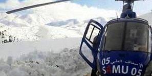 مروحية تنقل سيدة تعاني من نزيف دموي من أعالي جبال أزيلال إلى المستشفى الاقليمي