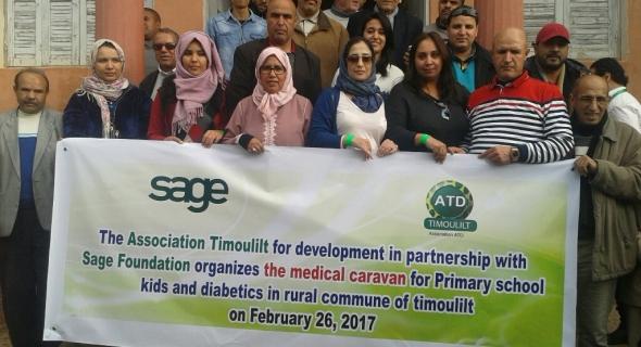 أزيد من 1300 مستفيذ من قافلة طبية متعددة الاختصاصات بجماعة تيموليلت بإقليم أزيلال