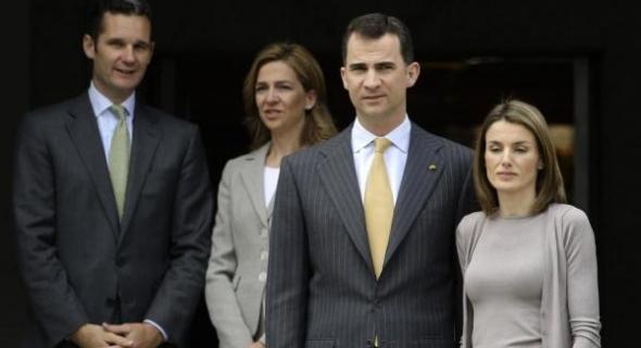 السجن ست سنوات في حق زوج شقيقة الملك الإسبانيا فيليبي السادس