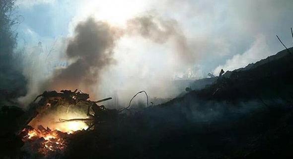 بعد منعها للاذان … النيران تنتقم للفلسطينيين وإخلاء عشرات الآلاف من المنازل الاسرائلية  وإصابة عشرات المستوطنين في مدينة حيفا