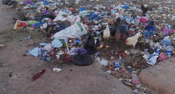 """الكوارث البيئية بدمنات .."""" مطرح النفايات """" مثلا !"""