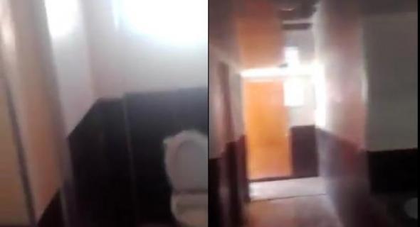 بالفيديو وموووت بالضحك …شوفو آش لقاو الطلبة داخل مرحاض الكلية