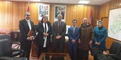 اجتماع بين مركز معابر وعامل إقليم أزيلال لتثمينن التراث المعماري وتنمية الإقليم