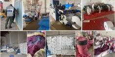 حجز حوالي 120 طنا من الأكياس البلاستيكية و40 آلة والمواد المستعملة في التصنيع